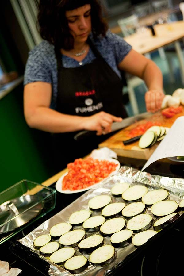 Kuchnia neapolitańska - bakłażany zapiekane, prawie gotowe