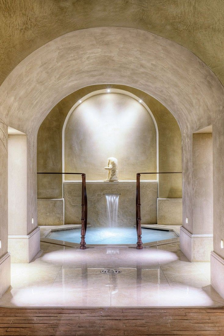 Who wouldn't want to relax in a roman bath at the hotel's renowned spa? Villa La Massa (Bagno a Ripoli, Italy) - Jetsetter