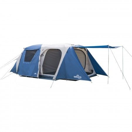You'll want to spend the entire summer camping in the Cabana 6, our premium family camping tent. This waterproof, 6-person tent is a luxury hideaway on those long camping getaways with family and friends.