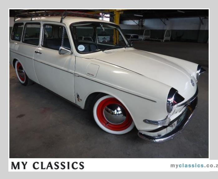 1967 VW Variant Squareback classic car