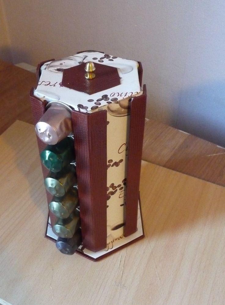 17 meilleures images propos de cr a diy sur pinterest porte bijoux - Boite rangement capsules nespresso ...
