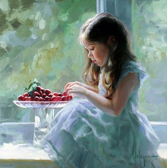 vladimir-volegov's paintings, it is so realistic and beautiful! http://www.paintingsframe.com/