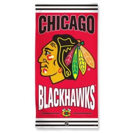 SERVIETTE DE PLAGE CHICAGO BLACKHAWKS