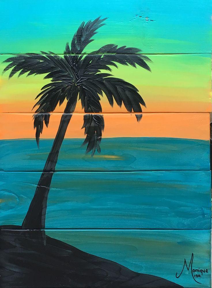 Sunset Serenity #glitzoncanvas #amermaidsminddesigns
