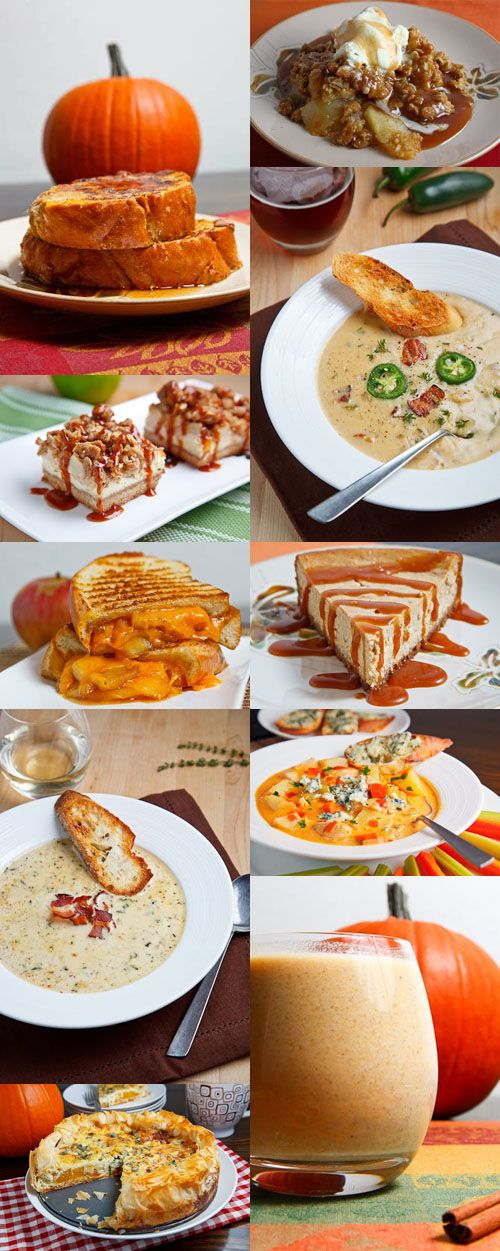 25 Fabulous Fall Recipes.... I want to make EVERYTHING. Except the brussel sprout one... :/