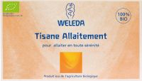 Weleda: Tisane allaitement, tisane galactogène, allaiter, favoriser la lactation, téter, donner le sein