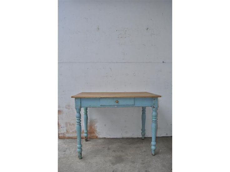 statafel, werkmeubel, industriële tafel, de fabrikeur, industriële meubelen, vintage meubelen