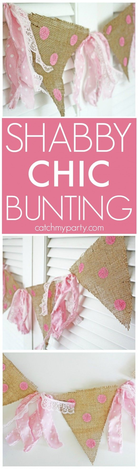 how to make easy wedding bunting