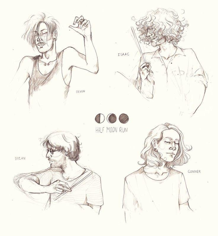 Half Moon Run Art. Band. 2015