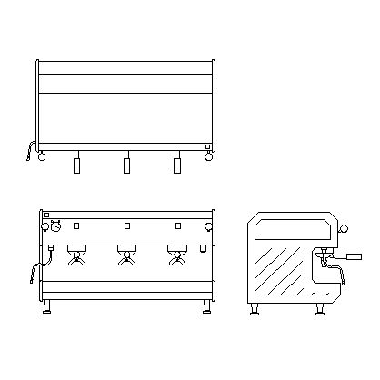Download free 2d cad construction drawings for Autocad kitchen cabinets