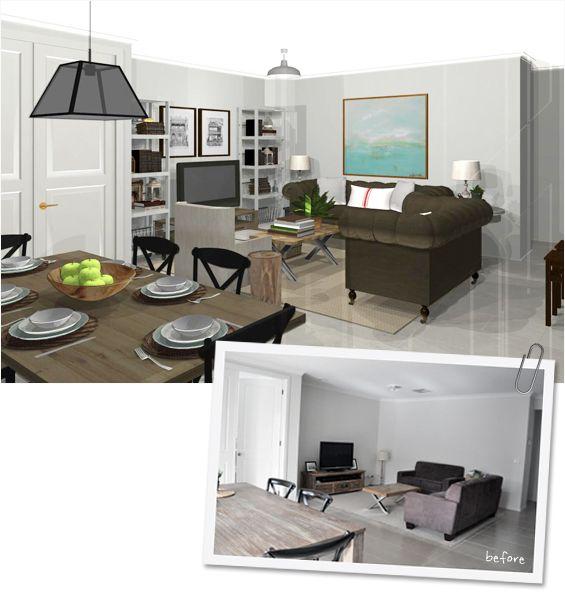 Virtual Room Makeover best 25+ cambio de imagen virtual ideas on pinterest   proceso en