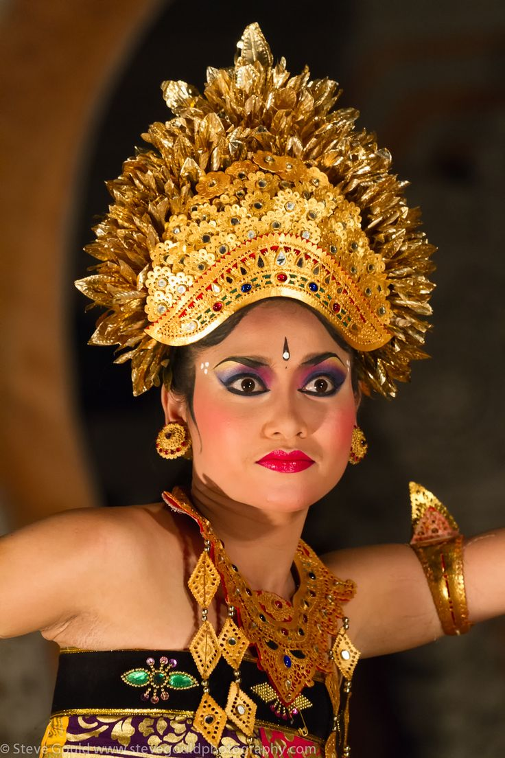 Young Balinese Dancer in Ubud by Steve Gould