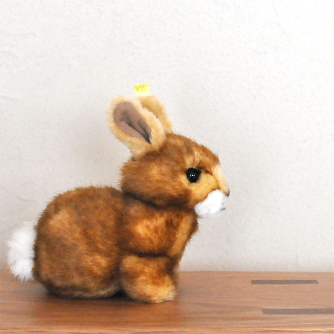 シュタイフ ホッペル ラビット ウサギ 14cm Ean080081 ウサギ シュタイフ テディベア