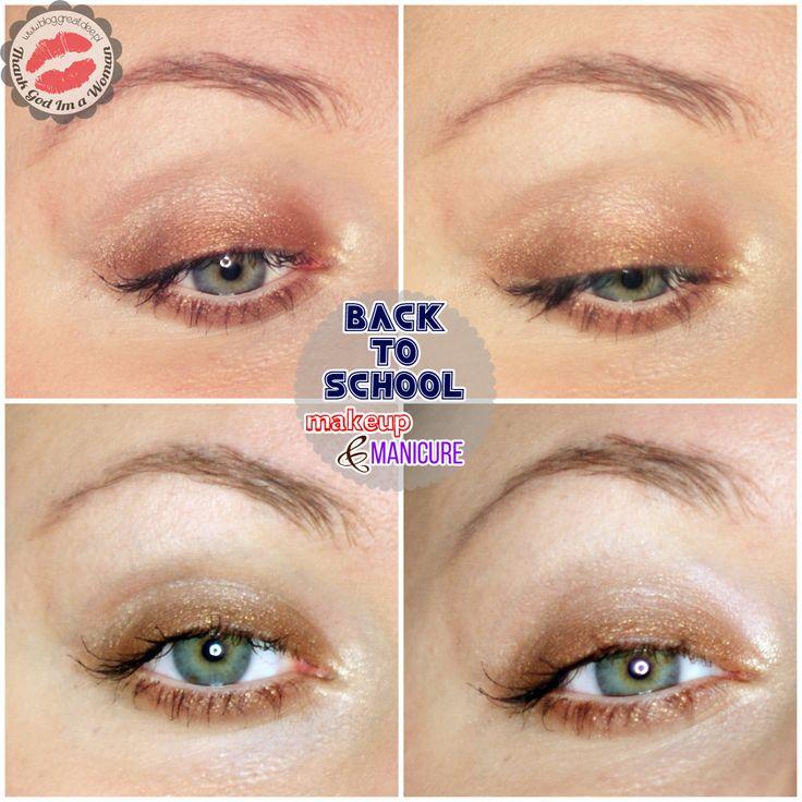 Back to school: makijaż i paznokcie do szkoły
