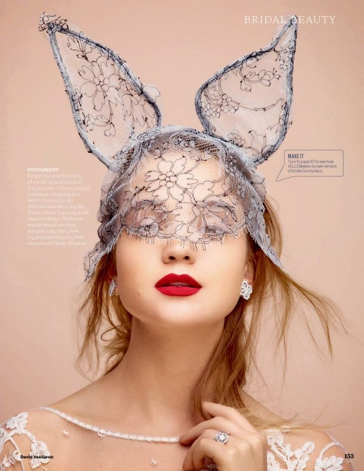 Rosie Tupper By David Vasiljevic For Uk Elle Wedding Autumn/Winter 2014