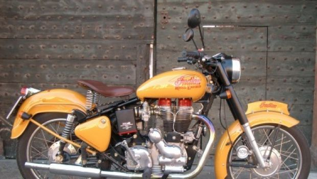 nnIndian Special Edition Royal Enfield del Capitano