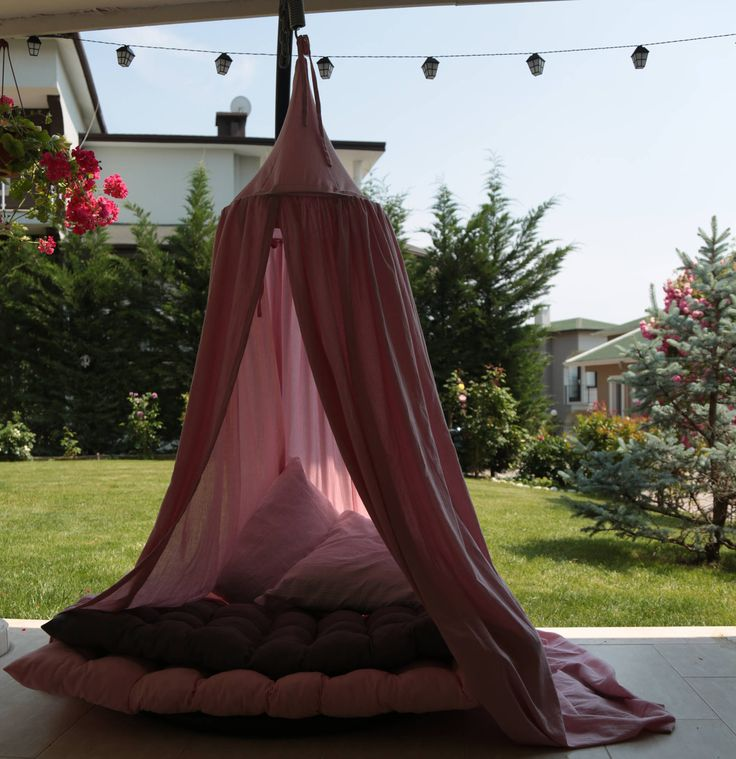 Teepee, Canopy, Hanging Reading Corner for your child in the nursery or kids room by IZAANDLEYLA on Etsy