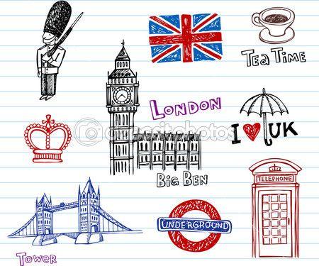 лондон рисунок - Поиск в Google