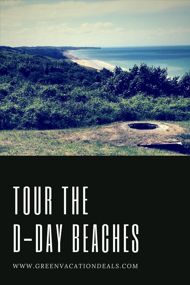 France Travel Ideas - Take a Tour Of The D-Day Beaches. Travel from Pais to Normandy on a luxury coach, visit the Caen Memorial Museum, visit Point de Hoc, explore Omaha Beach and more. | Things to Do on your Paris Vacation