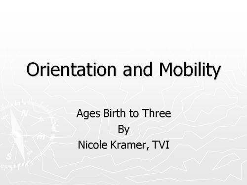 85 best Orientation and Mobility (Concept Development) images on - orientation mobility specialist sample resume