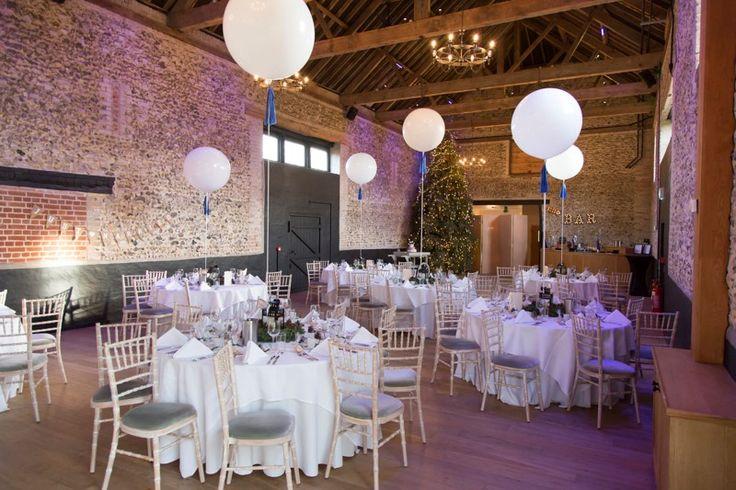 Christmas wedding at the Barns #thegranarybarns