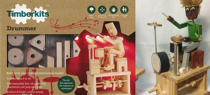 Constructie speelgoed van hout voor kinderen vanaf 7 jaar