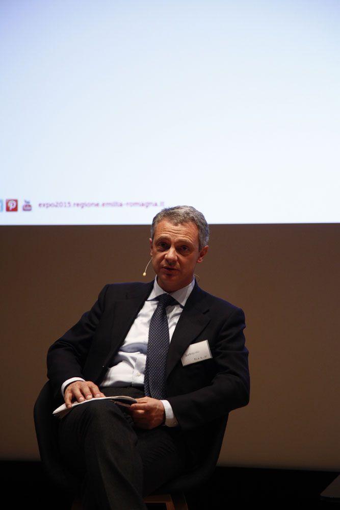 MAST Bologna, incontro sull'Emilia Romagna nel dopo Expo http://expo2015.regione.emilia-romagna.it/  il direttore generale Caab Alessandro Bonfiglioli