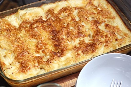 Smoked Gouda Mac and Cheese. All it needs is a BBQ pulled pork topper ...