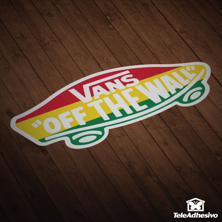 Car and Motorbike Stickers Vans off the wall 4
