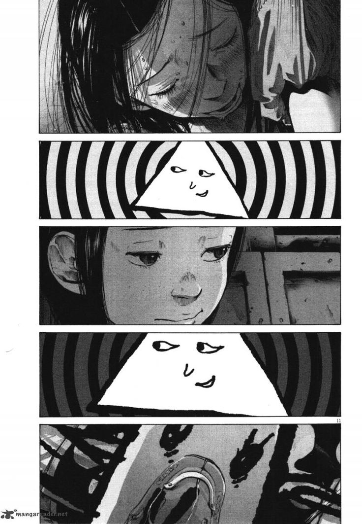 Oyasumi Punpun (this image is spliced together from several different scenes/pages in the story)