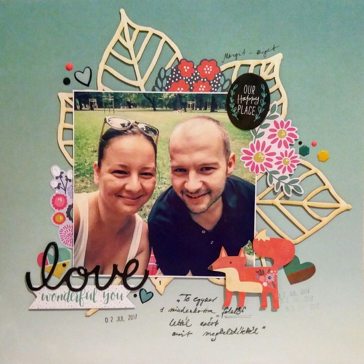 12x12 layout #love #bigchipboard #fox
