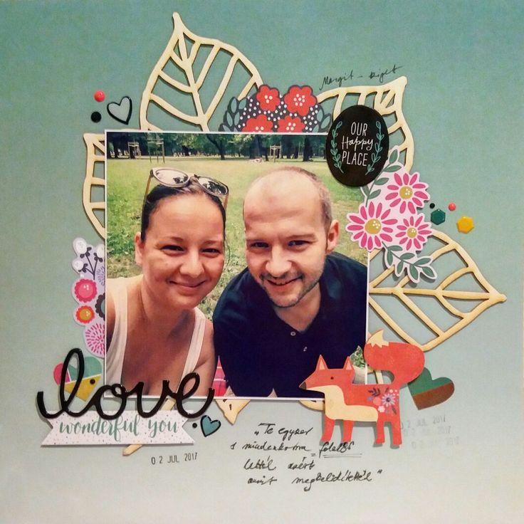 12x12 layout #love #bigchipboard #fox