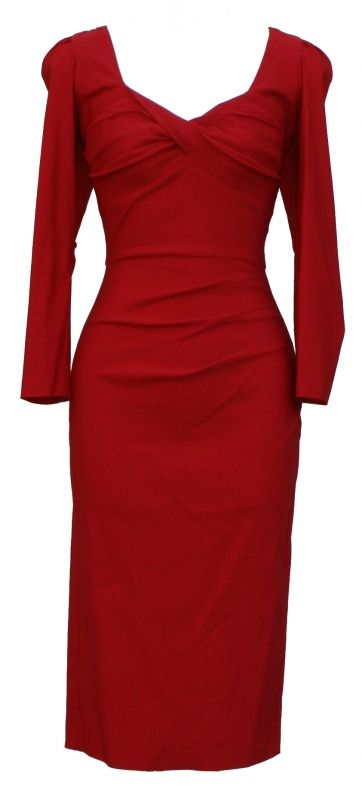 Red dress, Stop Staring