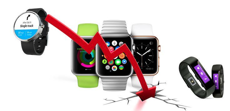 Las ventas de relojes inteligentes caen un 50% en 2016 - http://www.actualidadiphone.com/ventas-relojes-inteligentes-caen-2016/