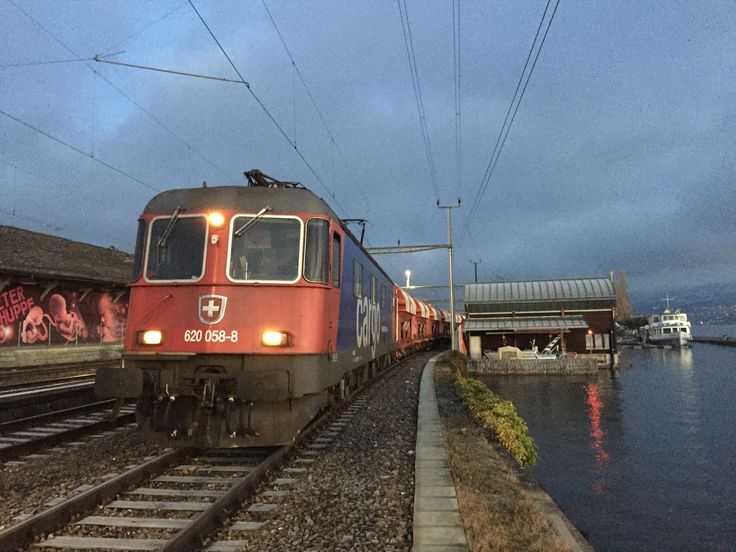 Switzerland - SBB Cargo Kieszug Re620 Wädenswil