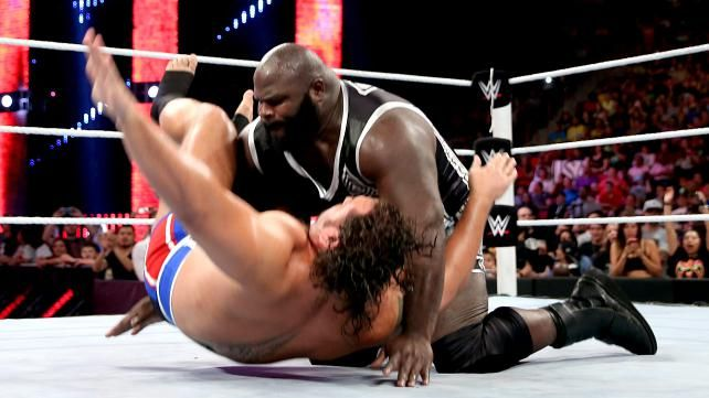 Mark Henry Confronts Rusev Photos