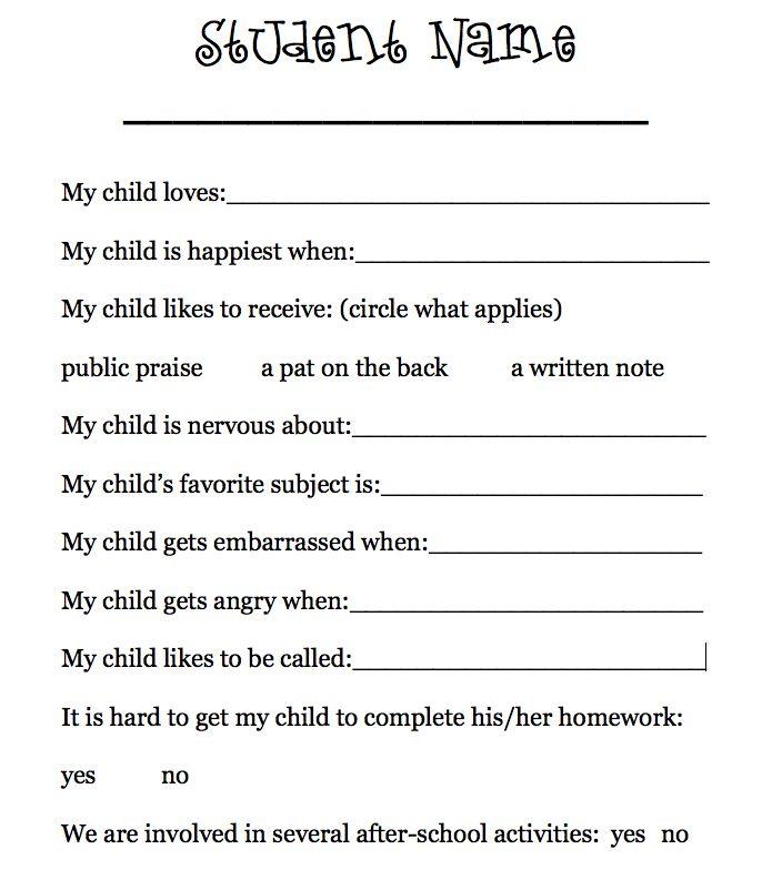 writing a survey form