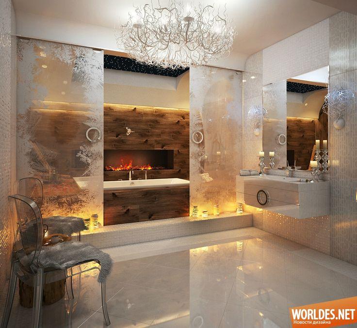 Роскошные ванные комнаты фото 1