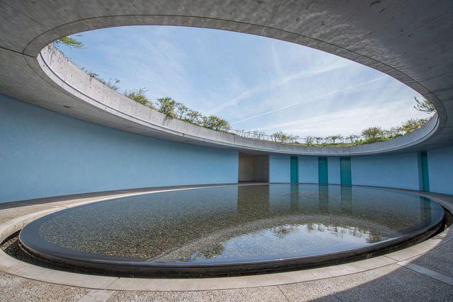 Le Benesse House Museum, à Naoshima, conçu par Tadao Ando. More