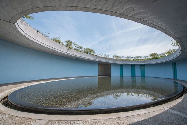 Le Benesse House Museum, à Naoshima, conçu par Tadao Ando.