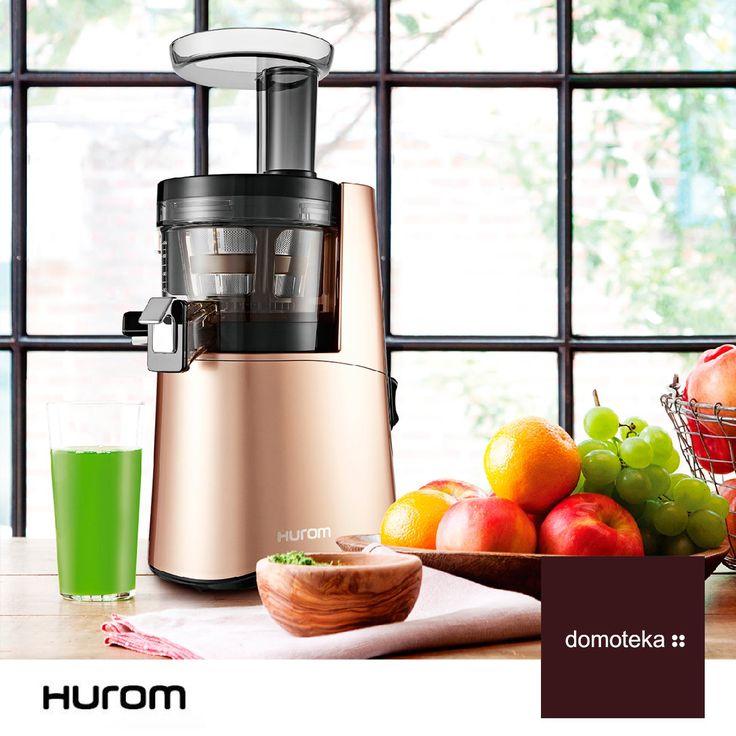 Jesień smakuje domową multiwitaminą od Hurom. Wyciskarka wolnoobrotowa to najmodniejszy dodatek do kuchni!