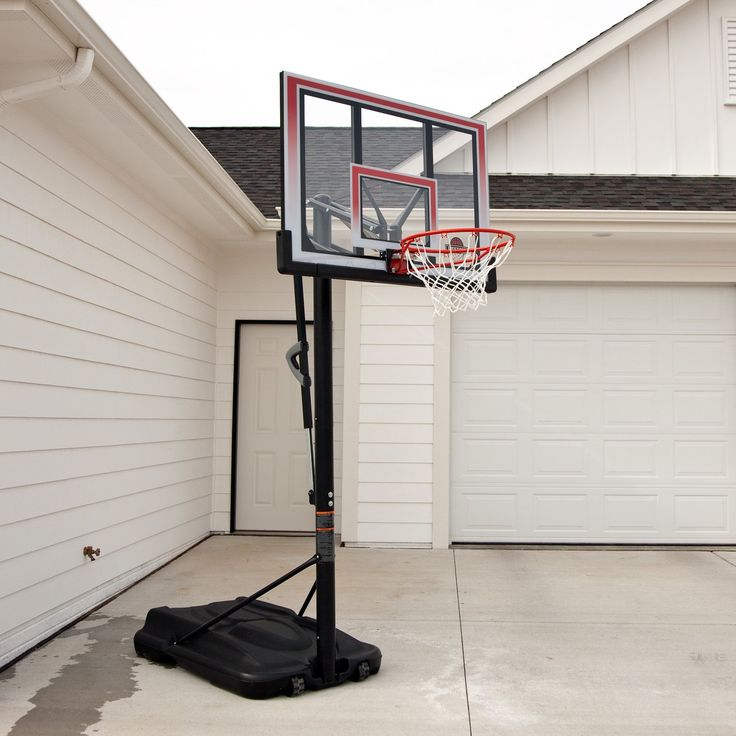 Have to have it. Lifetime 50 Inch Shatter Proof Portable Basketball Hoop - $320.09 @hayneedle