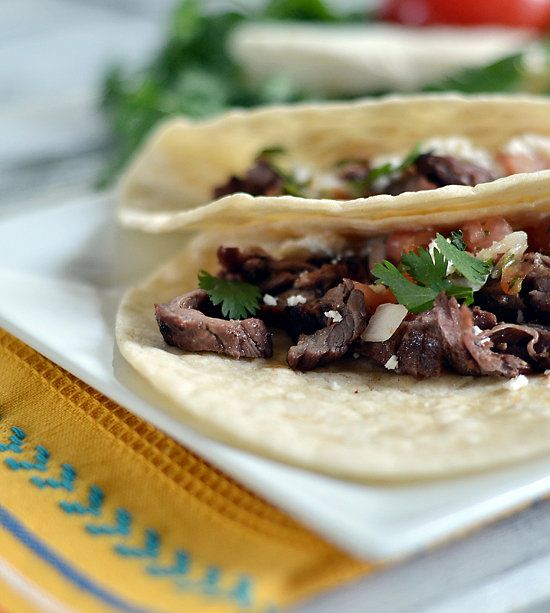 carne asada grilled steak tacos | Recipes | Pinterest