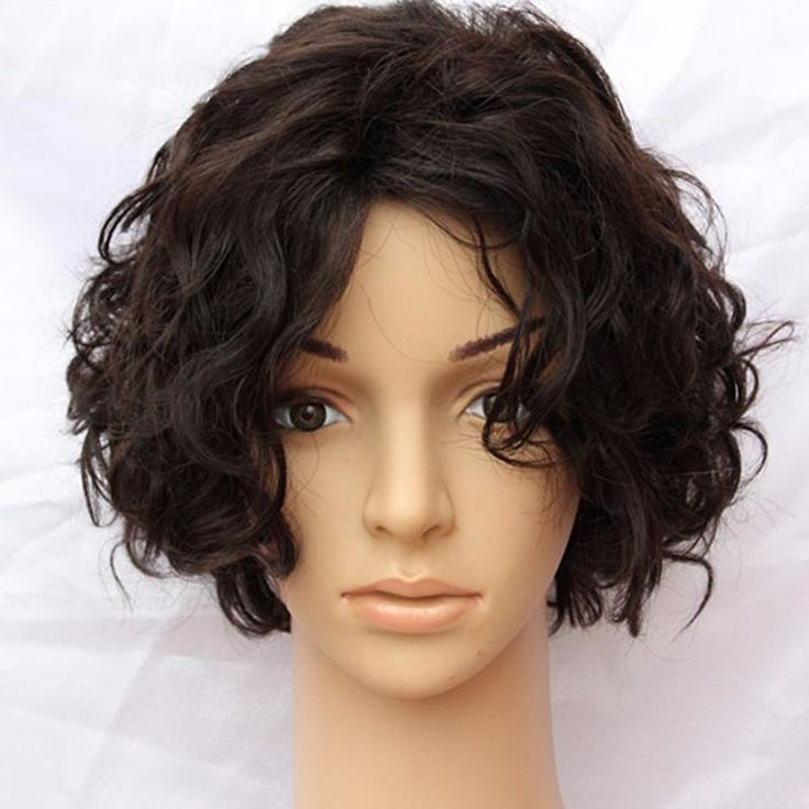Item Type: Wig Material: Human Hair Cap Size: Average Size Net Weight: 150g Wigs Length: Short Color Type: Pure Color Suitable Dying Colors: Darker Color Only Texture: Wavy Made Method: Machine Made C
