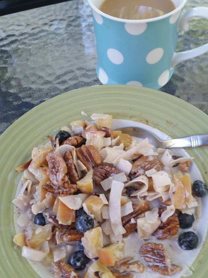 "Craving oatmeal, but you know your body won't be happy if you indulge? Me, too! But I've found that this delicious ""muesli"" recipe fulfills the ""need to feed"" using no grains, thereby making my joi..."