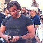 Saif-Ali-Khan Phantom film Shooting