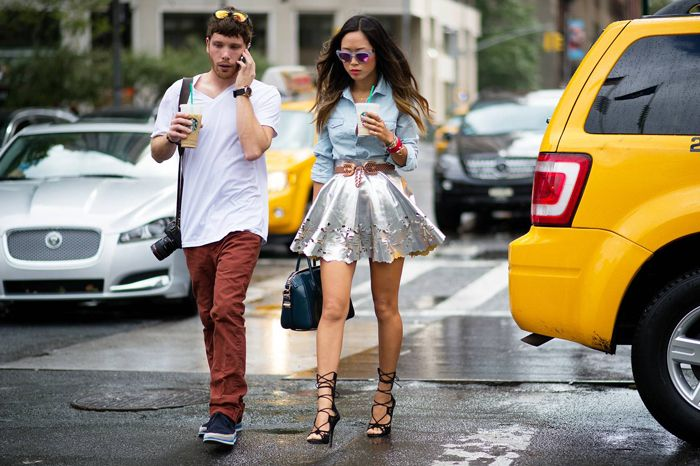 Nyfw Wesley Mason And Aimee Song Via The Cut Bloglove Pinterest