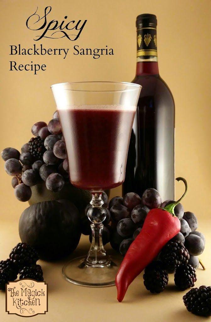 Easy blackberry sangria recipe