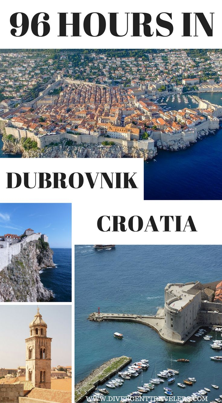 96 Hours in Dubrovnik, Croatia. Planning a trip toDubrovnik, Croatia? Use our96-hour Dubrovnikvacation travel guide for the perfect long weekend itinerary, including the best accommodations, attractions and restaurants. Click to read: 4 Day Dubrovnik Guide – Things to do in Dubrovnik #Travel #Guide #Dubrovnik #Croatia