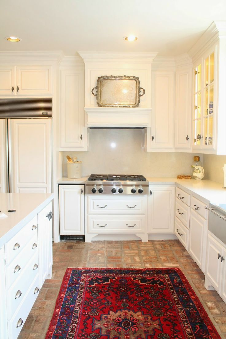 Red Brick Flooring Kitchen 17 Best Ideas About Brick Floor Kitchen On Pinterest Brick Tile
